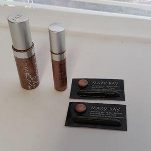 Mary Kay Beach bronze lip gloss lot